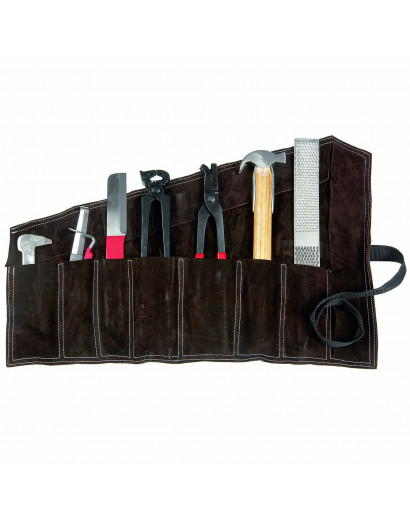 AWA Farrier's Tool Set with Leather Bag