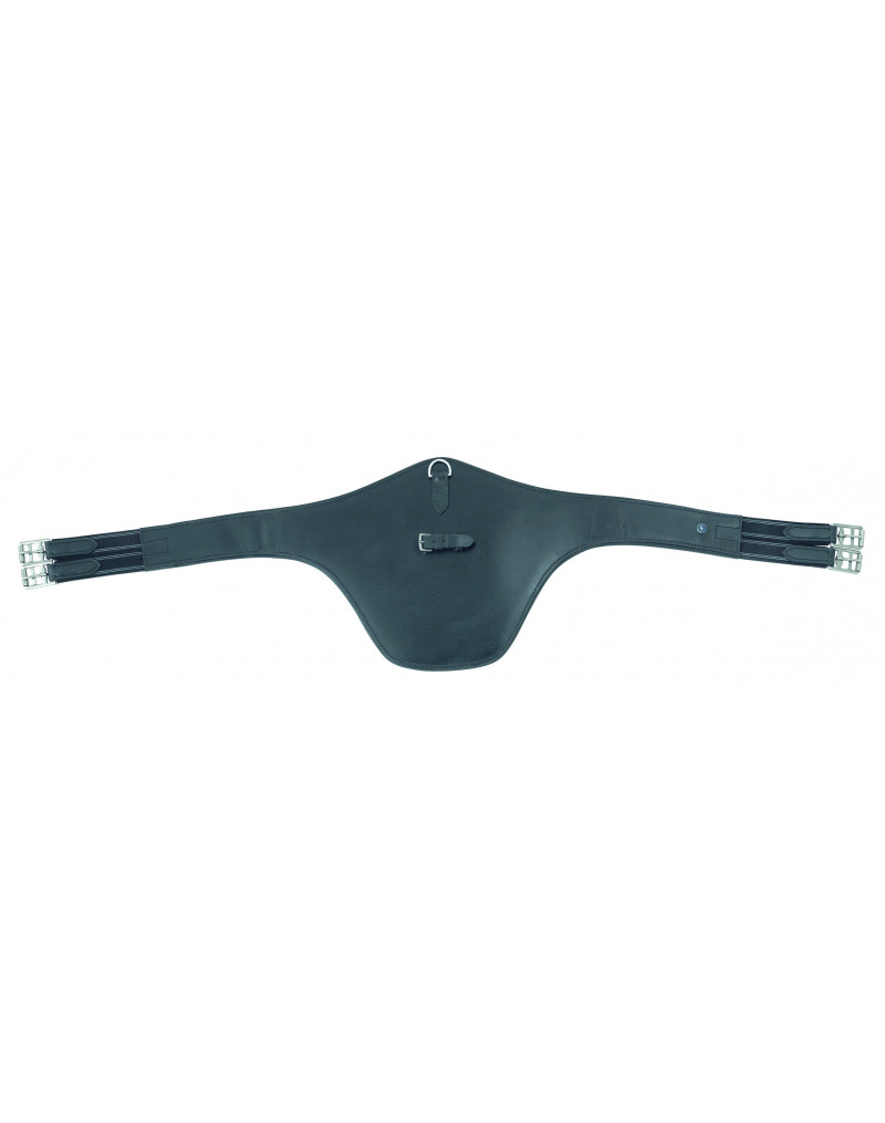Shires Leather Stud Guard Girth
