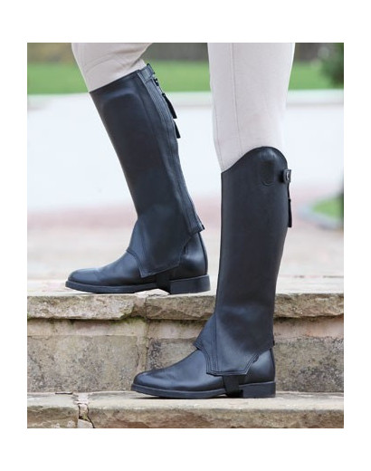 Elmswell Leather Gaiters