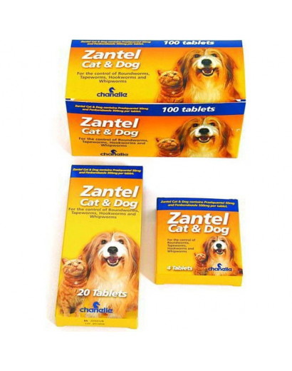 Zantel Wormer for Cat & Dogs