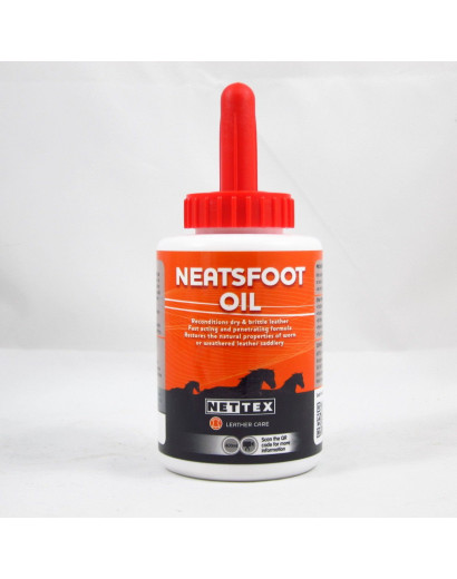 Nettex Neatsfoot Oil - INCLUDES BRUSH