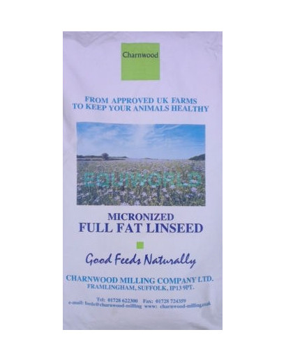 Charnwood Milling Micronised Linseed 20kg