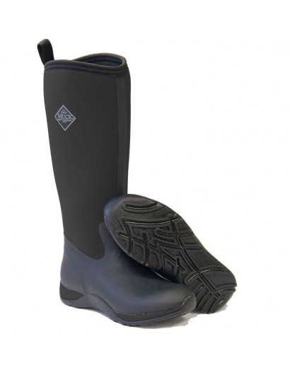 Arctic Adventure Plain Boot Blk/Purple