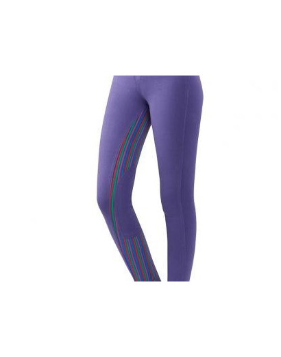 Dublin Supafit Childs Purple Stripe Jodhpurs