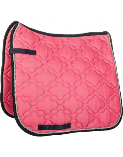 HKM Saddle Cloth Equestrian Pink/Navy
