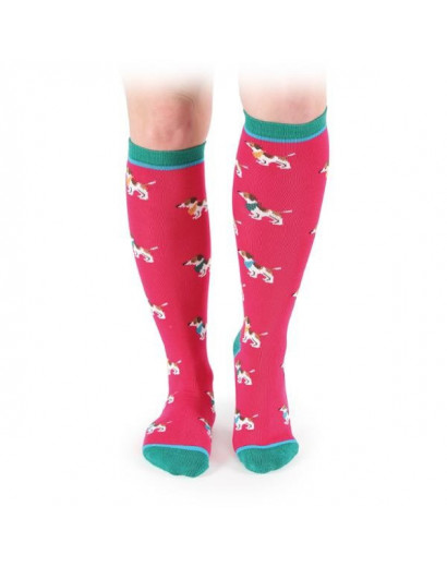 Everyday Socks Little Jack Russells Adults size 3.5-8