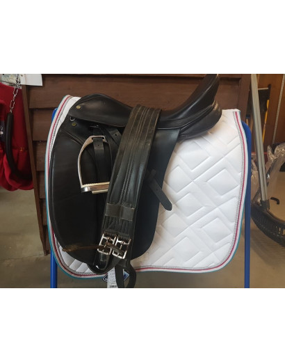 "17.5"" Berney Dressage Saddle"