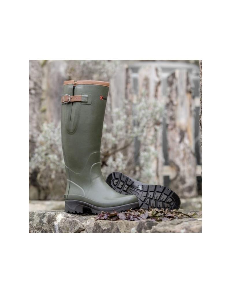 "Crosslander ""Kodiak"" Wellington Boots- Olive"