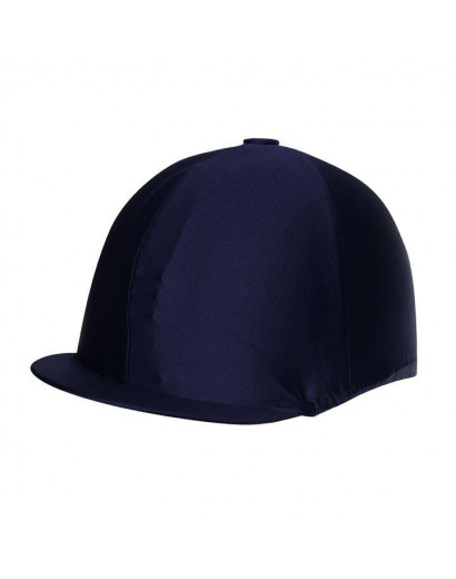 Shires Stretch Hat Cover Navy
