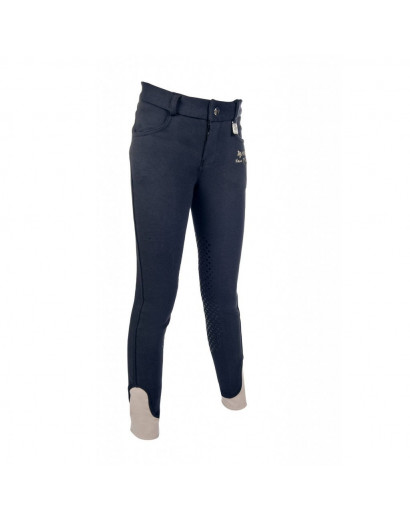 HKM Riding Breeches Kids Easy Silicone Breeches Age 9-10