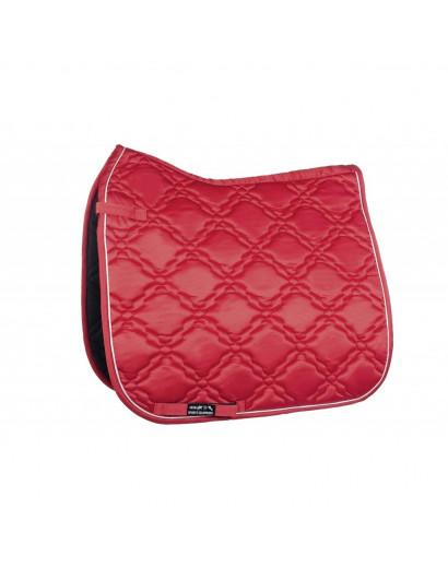 "HKM Saddle Cloth ""Bologna"" -Bright Red"