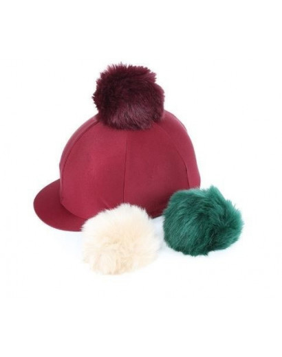 Switch It Pom Pom Hat Cover Maroon