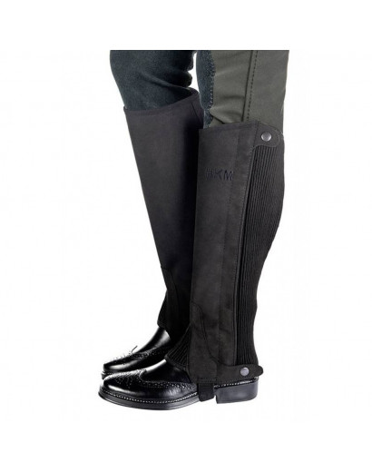 HKM Half Chaps Microfibre Imitation Leather