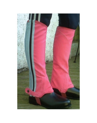 Gallop Pink/Blue Chaps Child