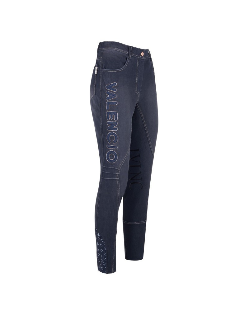 "La Valencio ""Kalendro Jr"" Dark Denim Breeches"