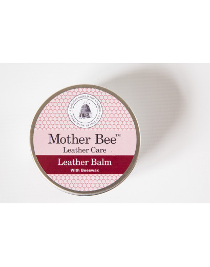Mother Bee Leather Balm 250ml in Tin