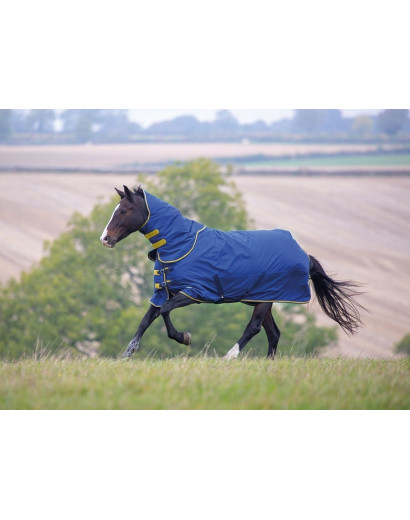 Shires Tempest Original 300g Turnout Rug & Neck Piece- Navy