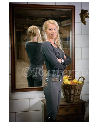La Valencio Calista Grey Breeches