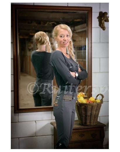 La Valencio Calista Grey Breeches