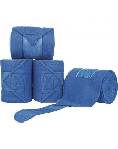 HKM Polar Fleece Bandages- Corn Blue- 3metres