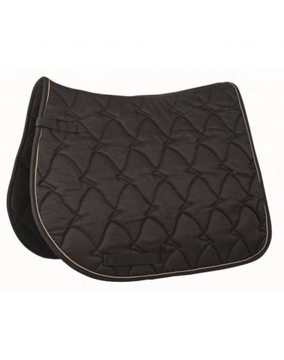 "HKM Saddle Cloth ""Cassandra"" Black- Cob/Full Size"