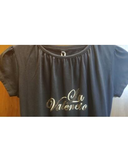 La Valencio Navy T-shirt- EU140/Age 9-10