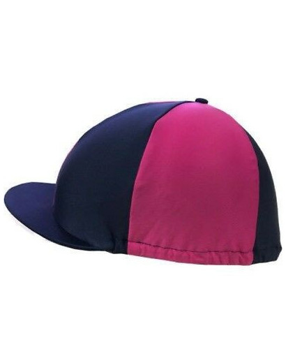 Shires Hat Silk Raspberry/Purple