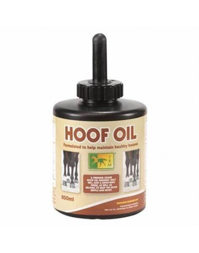 Turfmasters Hoof Oil Can with Brush