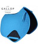 Gallop Prestige Close Contact Saddlepad- Turquoise