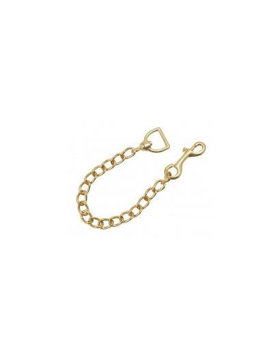 """Brass Lead Rein Chain- 20"""""""