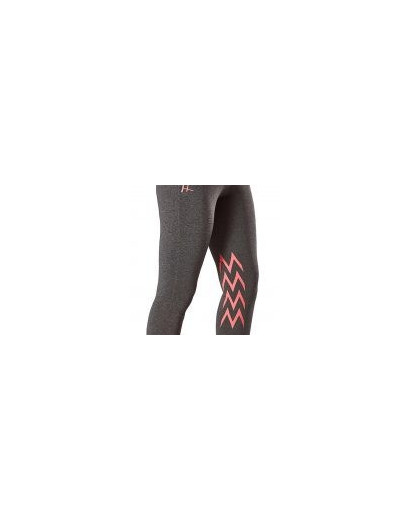 Firefoot Ripponden Ladies Riding Tights- Grey Marl/ Pink
