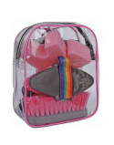 HKM Grooming Bag with 5 Pieces