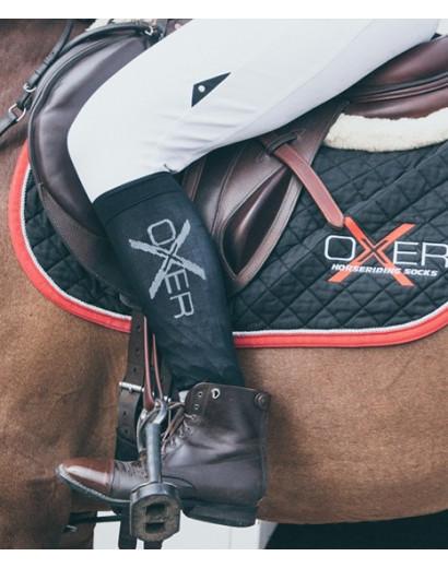 Oxer socks-Black -3 pack