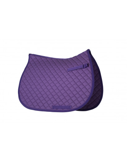 Gallop Quilted Saddlepad- Pony/Cob size- Purple