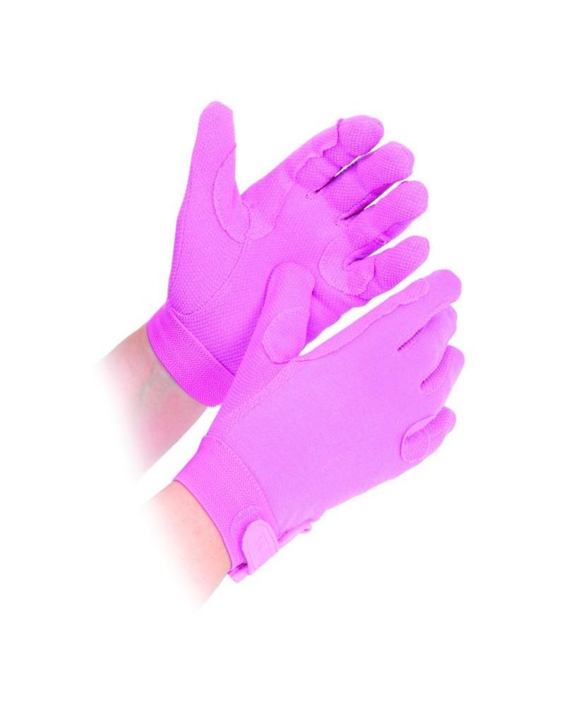 Newbury Glove Adult-Pink,Black,White