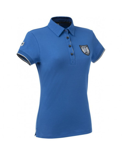 Equitheme Jersey polo shirt- short sleeves- age7/8