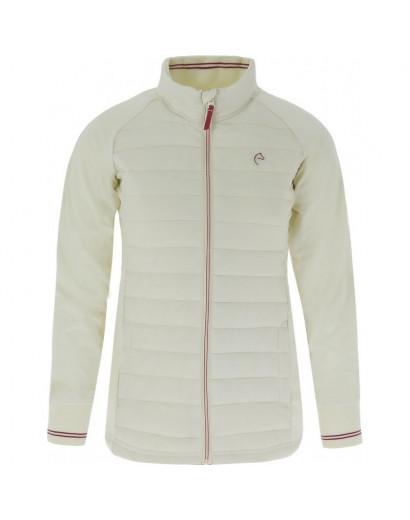 Equitheme Padded Jacket- XS ladies- Cream