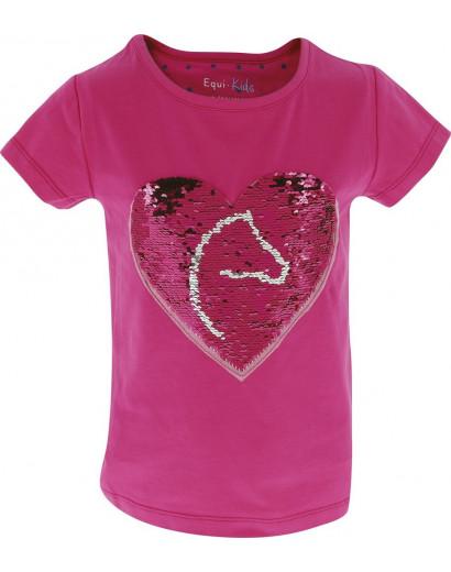 "Equi-kids ""Pony Love"" Magic Tee-Shirt- Age 3-4"