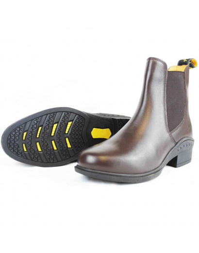Gallop Elegance Jodhpur Boot- Brown