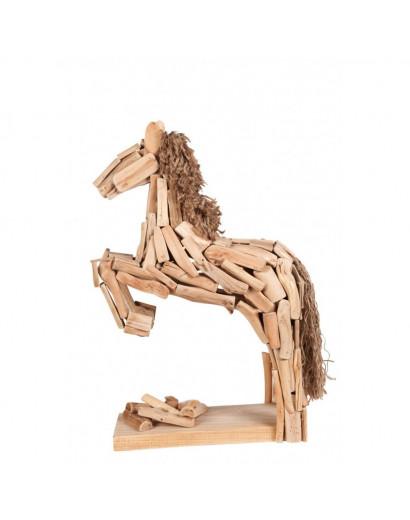 Statue jumping horse 30 x 18 x 9 cm
