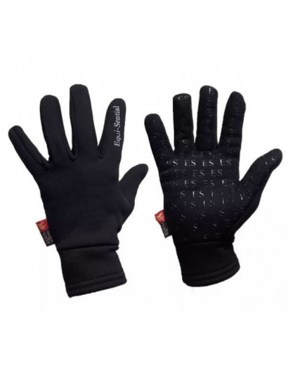 Equisential Breton Gloves- Black