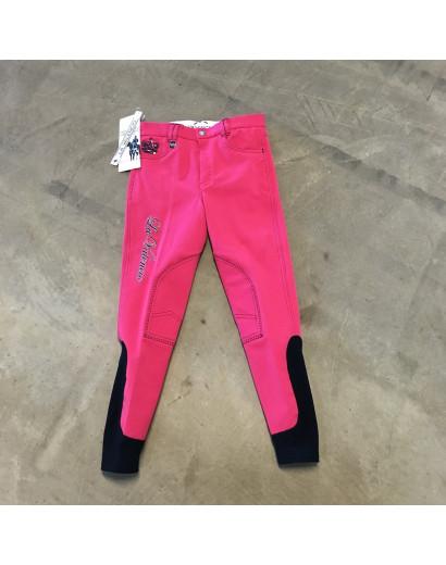 La Valencio Electron Breeches Pink Age 12