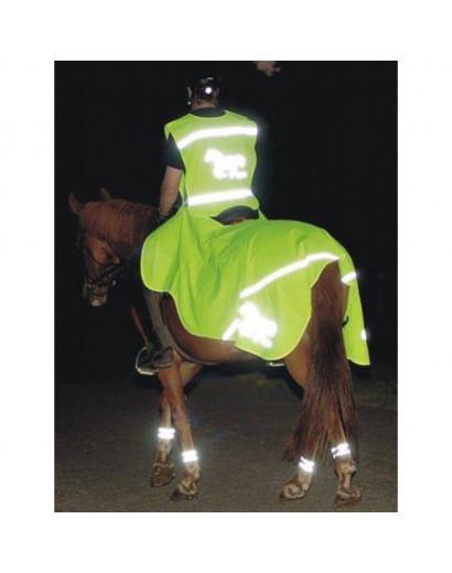 HKM Fluorescent exercise sheet 135-165cm