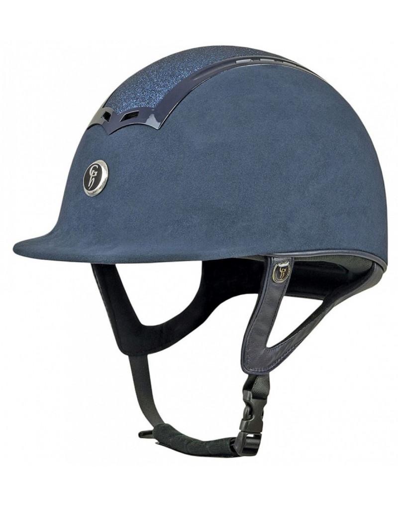 Gatehouse Ciana Riding Hat- Navy Glitter- 59cm