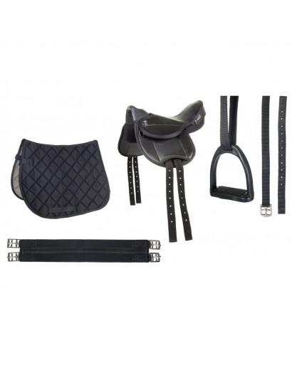 HKM Shetland Pony Saddle Set- Beginner