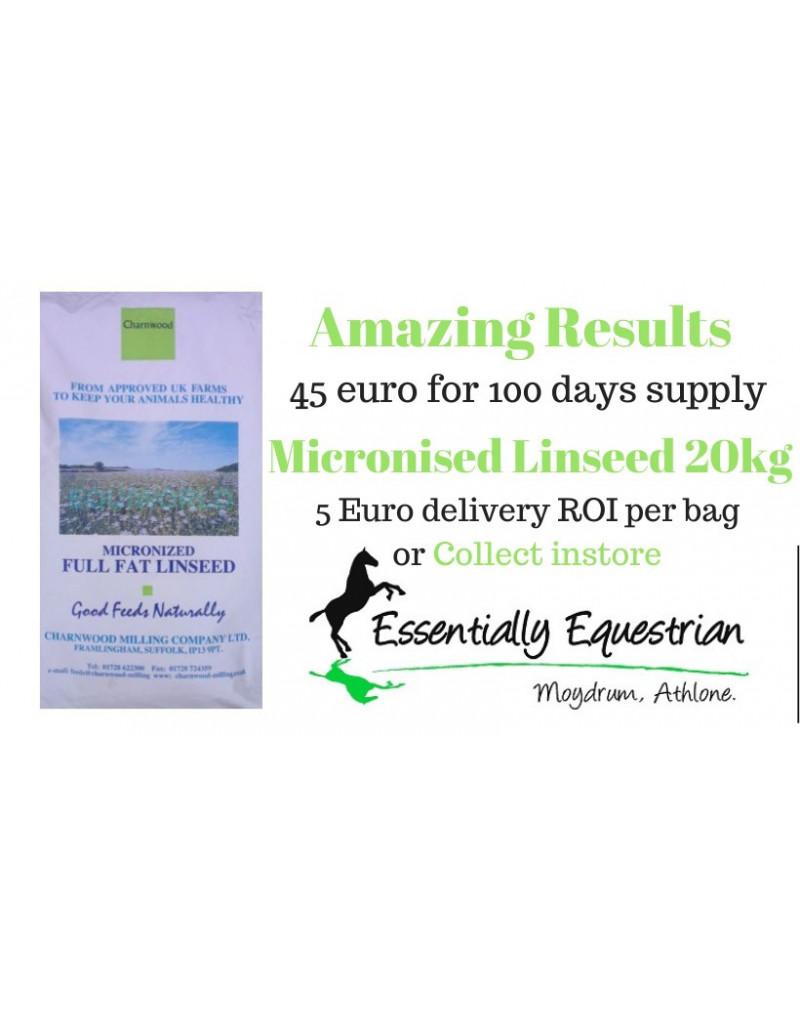 Charnwood Milling Micronised Linseed 20kg