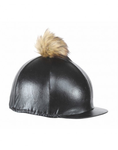 Aubrion Metallic Hat Cover- Black