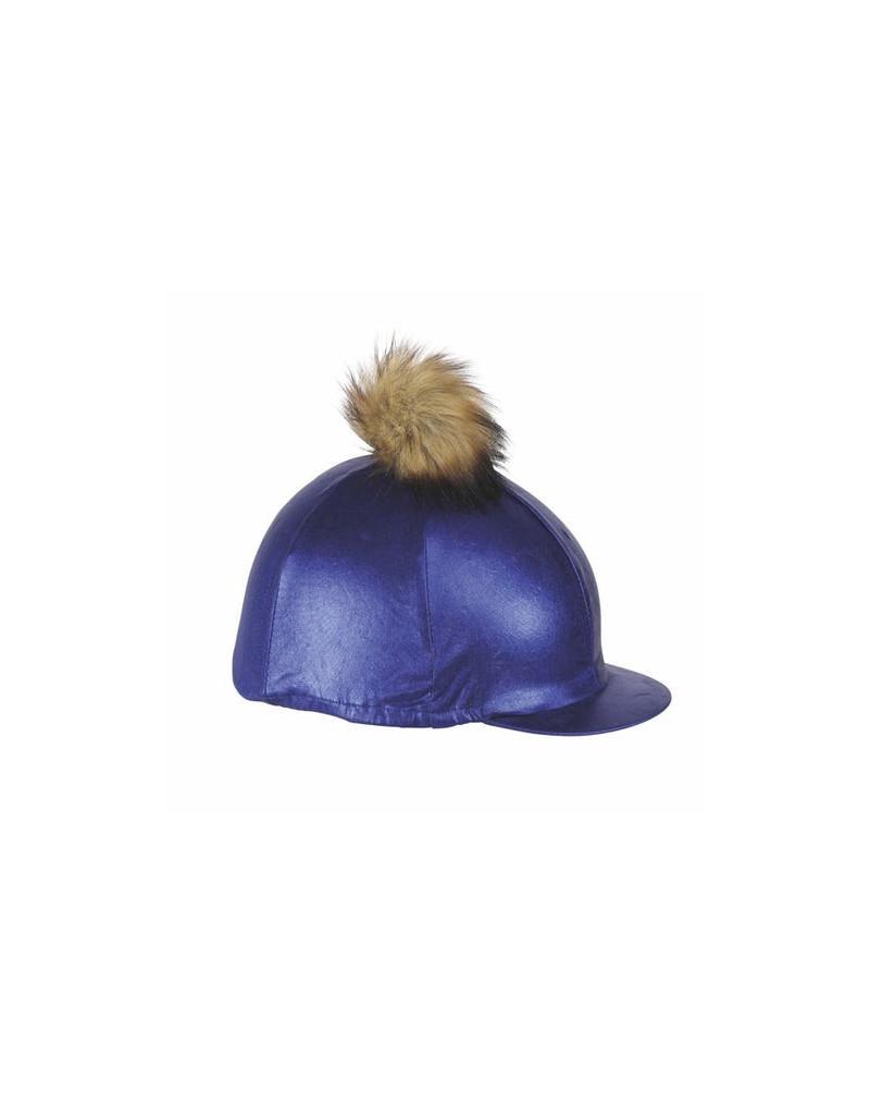 Aubrion Metallic Hat Cover- Black