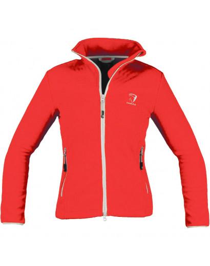 """Horka Fleece Jacket """"Sunshine""""- Red"""
