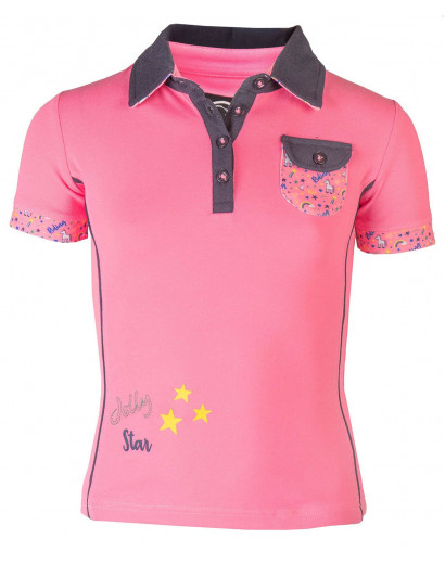 "Horka Polo ""Poppy"" Rose Pink- Age 9-10"